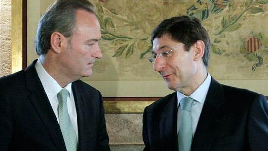 imagen del presidente de la comunitat valenciana despues de anunciar que la FP Dual no supondrá despidos